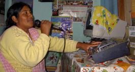 Community Radio Bolivien