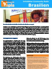 Infoblatt Community Radios Brasilien