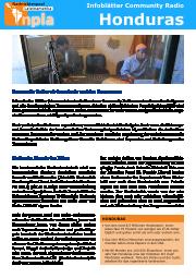 Infoblatt Community Radios Honduras