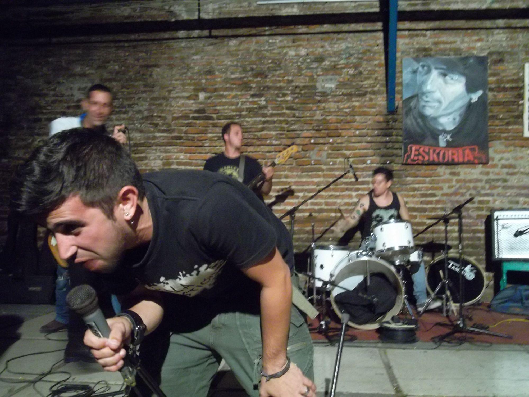 Punkband Krisis in Santa Clara. Foto: D. Ossami