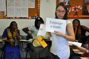 Aline Thuller von der Caritas Rio de Janeiro / Foto: Caritas Rio de Janeiro