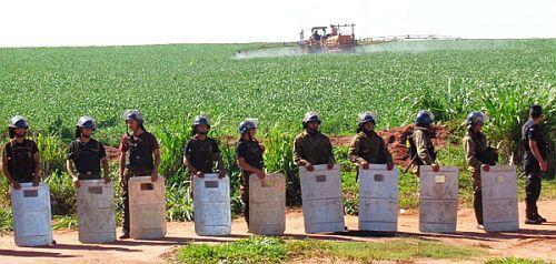 Paraguay Massaker Curuguaty Polizisten Adital