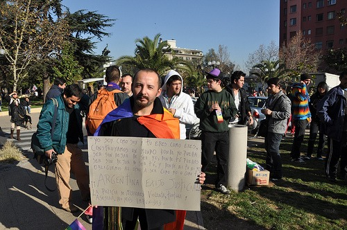 Teilnehmer des Marcha de Orgullo in Chile 2011 / movilh, flickr