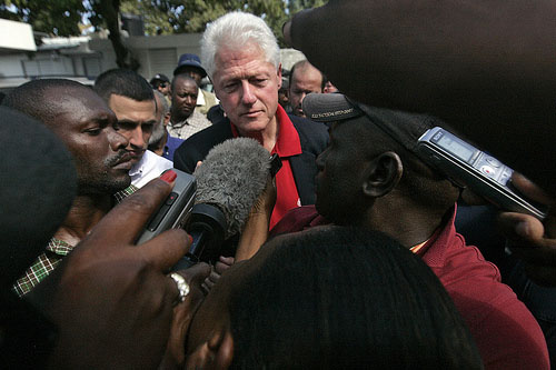 Clinton in Haiti / Februar 2010 / UN-Photo, Flickr
