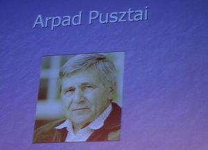 Arpad Pusztai auf einem Powerpoint-Screenshot / yksin, CC BY-NC-ND 2.0, Flickr