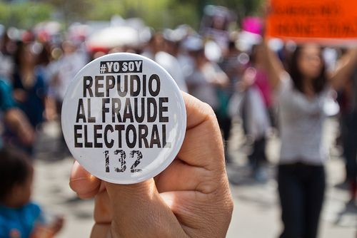 Mexiko Wahlen-fraude-yosoy132  ismael villafranco CC BY 2.0 flickr