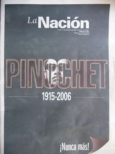 Chile Titelbild La Nacion Pinochet  Ryan Greenberg CC BY-NC 2.0 flickr