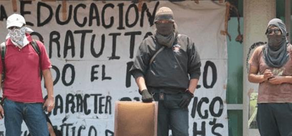 Die Besetzer*innen von der UNAM. Foto: Pulsar
