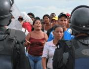 53 Personen bei gewaltsamer Räumung festgenommen