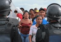 Nicaragua - Proteste gegen Räumung. Foto: Pulsar