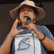 Menschenrechtsaktivistin Berta Cáceres (Copinh) vorerst auf freiem Fuß