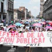 Die LehrerInnenproteste in Mexiko