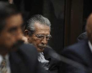 Rios Montt vor Gericht. Foto: Pulsar