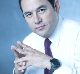 Hier mal ernst: Der guatemaltekische Präsidentschaftskandidat Jimmy Morales. Foto: Wikimedia Commons (CC BY-SA 4.0)