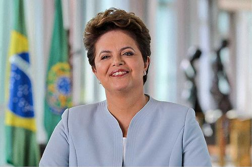 Dilma Rousseff Foto: Blog do Planalto, CC BY NC 2.0, flickr