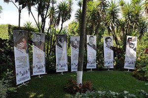 El Salvador Gedenken Ermordete UCA / Foto: Johan Bergström Allen CC BY 2.0 flickr