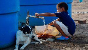 Kinder leiden an Unterernährung