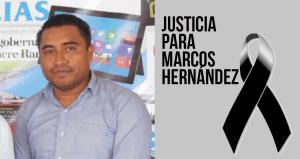 Der ermordete Journalist Marcos Hernández Bautista. Foto: Educaoaxaca