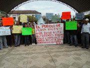 Angehörige von Verschwundenen protestieren