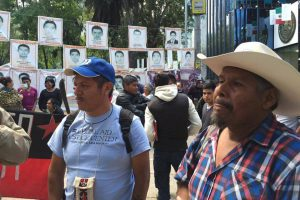 Familienangehörige der verschwundenen Studenten aus Ayotzinapa