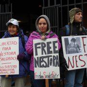 Nestora Salgado: Aus dem Gefängnis direkt zum politischen Engagement