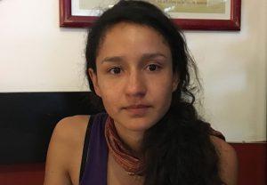 Berta Isabel Zúñiga Cáceres, zweitälteste Tochter der ermordeten Berta Cáceres, im Interview. Foto: Desinformémonos