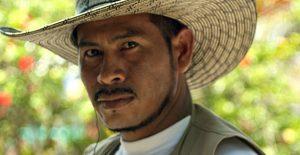 Bauernführer William Castillo Chima