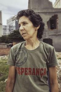 Nach 23 Jahren wurde das Haus von Maria da penha eingerissen. Foto: Volkskomitee WM und Olympia
