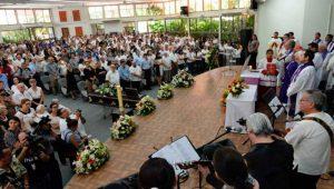 Trauerfeier für Fernando Cardenal in Managua. Foto: Telesur