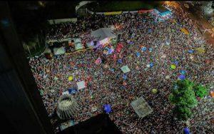 Die Großdemonstration am 31. März in Rio. Foto: pulsarbrasil