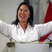 Keiko Fujimori und Kuczynski kommen in die Stichwahl