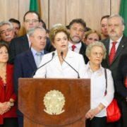 Wir dokumentieren: Presseerklärung von Dilma Rousseff nach ihrer vorläufigen Suspendierung