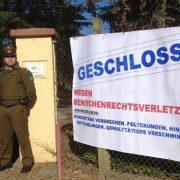 Hungerstreik und symbolische Schließung der Colonia Dignidad: Angehörige von Verschwundenen protestieren im Vorfeld des Gauck-Besuchs