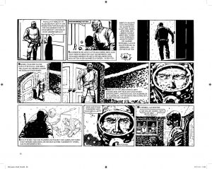 """Zeichnung aus dem Comic """"Eternauta"""" / avant-Verlag"""