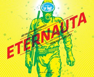 """Ausschnitt aus dem Titelbild von """"Eternauta"""" / avant-Verlag"""