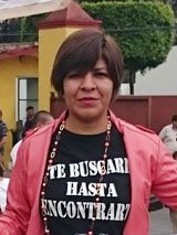 In Iguala wurden viele Verschwundene verscharrt, sagt Xitlali Miranda Mayo