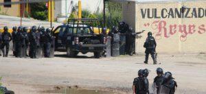 Bundespolizei schießt scharf. Foto: Desinformemonos