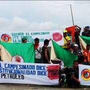 Der neue Agrarstreik. Foto: Telesur/Colombia informa
