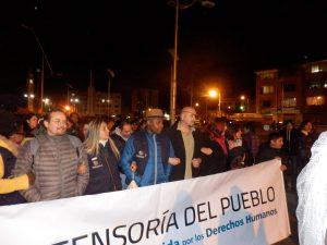 Defensoría del Pueblo (Ombudsstelle) feiert mit / Foto: Thomas Guthmann