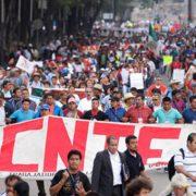 Runde Tische zwischen CNTE und Regierung