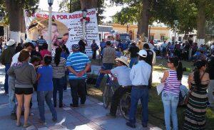 Infoversanstaltung zur Kontaminierung des Rio Sonora und seiner Zuflüsse (2014) / Foto: libera radio acmac, cc-by-nc-2-0