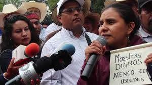 Menschenrechte verteidigen kann tödlich sein, dennoch: Mexiko_Atenco solidarisch mit CNTE-Mai-2016