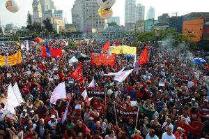 São Paulo - Manifestação contra o Impeachment da presidenta Dilma Rousseff no Largo da Batata, região oeste (Rovena Rosa/Agência Brasil, CC BY 3.0 BR)