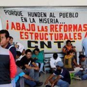 Kurz vor Schulbeginn: CNTE streikt weiter