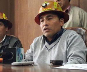 Der Vorsitzende Vereinigung der Bergbaukooperativen (Fencomin) in Bolivien Carlos Mamani wird beschuldigt, für den Mord an Vizeminister Rudolfo Illanes verantwortlich zu sein / Foto: Carlos Mamani, Abi