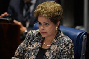 Dilma Rousseff bei ihrer Verteidigung vor dem Senat beim Impeachment-Verfahren am 31. August 2016 / Foto: Senado Federal, CC BY 2.0