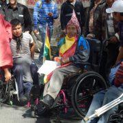 """""""Durch die Proteste sind wir sichtbar geworden"""" – Menschen mit Behinderung fordern Rente der Würde"""