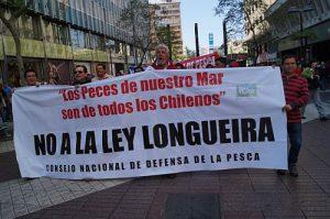 Fischer protestieren gegen das Longueira-Gesetz