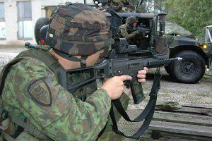 Tötet womöglich auch Unschuldige in Mexiko: Das Sturmgewehr G36. Foto: Wikipedia/Von Grippen - Eigenes Werk (CC BY 3.0)