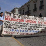 Proteste für ein gerechtes Bildungssystem